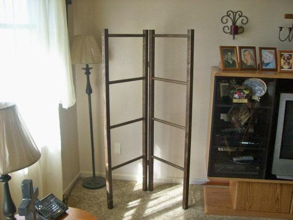 Corner / Quilt / Blanket / Wood Ladder Rack Lower Price : quilt display racks - Adamdwight.com