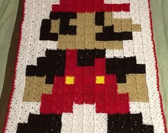Baby Mario Blanket