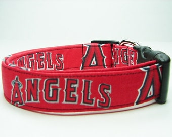 California Angels Dog Collar
