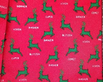 """Alynn """"Name the Reindeer"""" Necktie"""