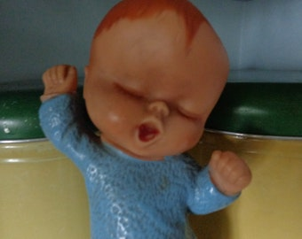 Rubber 1950's Squeaky Baby Toy
