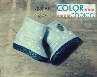 REALFEE BOOTS: Choice of Color for custom made original m.e.g.designs boots fitting Fairyland Realfee