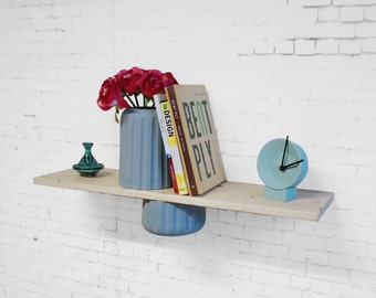 Shelf vase wall mounted vase for books and many more items, vase for on the wall bookstand, wall mount, wall shelf
