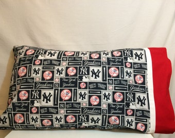 New York Yankees pillow case