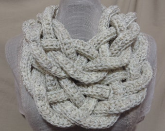 Double Layer Braided Cowl