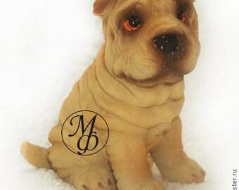 Silicone soap mold dogs