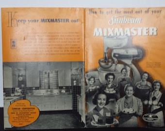 Sunbean's Mix Master Book 1940's