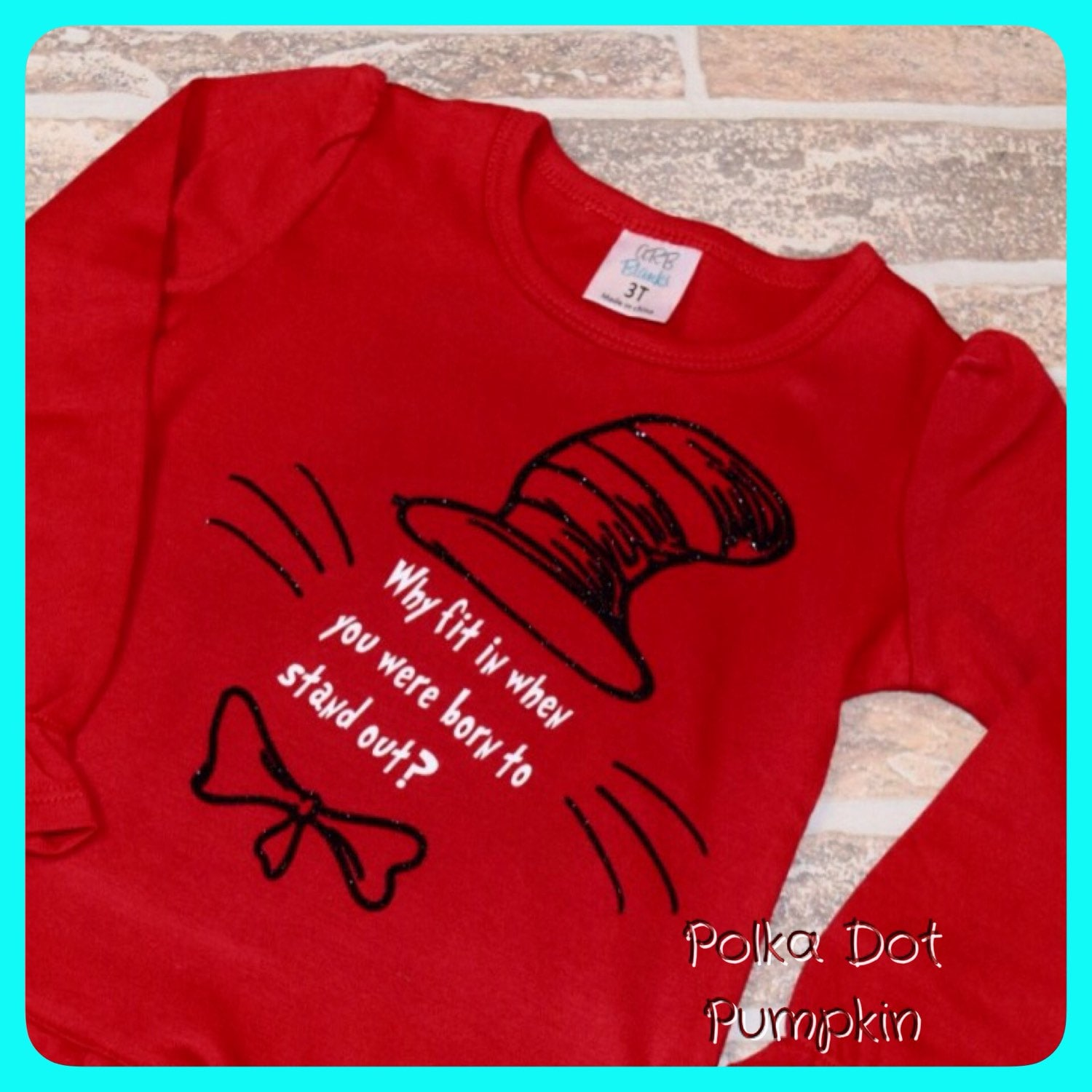 75b56f57 Dr Seuss Shirts For Toddlers | Toffee Art