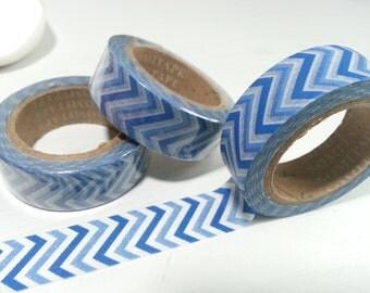 Blue Washi / Masking Tape - 10M