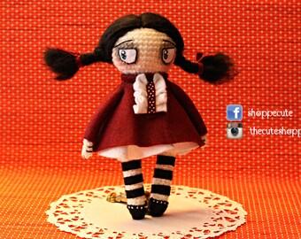Gothic Doll Amigurumi