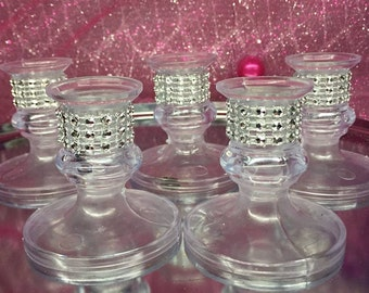 Sweet 16 Tapered Candle holders for lighting ceremony Choose your color
