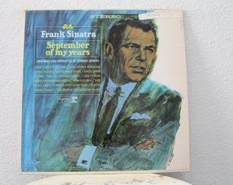 "Frank Sinatra - ""September Of My Years"" vinyl record"