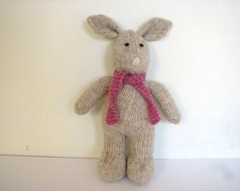 Bunny Rabbit Knitting Kit - 100% Pure New British DK Wool