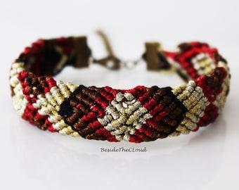 Hand Woven Bracelet - Gift for her