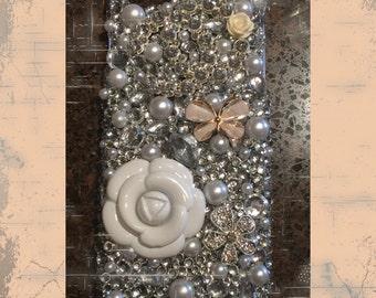 Custom Bling Rhinestone Sparkle Cell Phone case