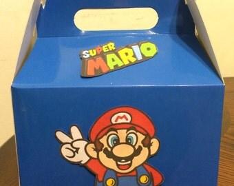 Super Mario Birthday Favor Boxes