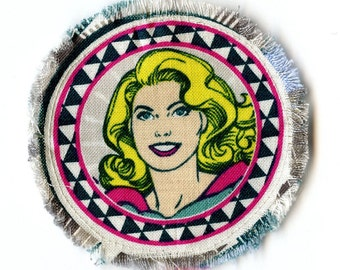 Supergirl Iron On Patch