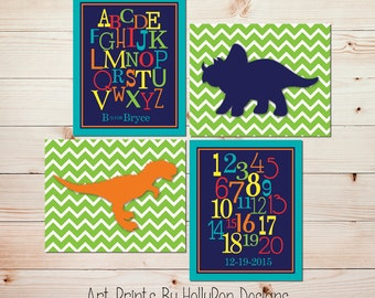 Kids Bedroom Art dinosaur nursery art | etsy