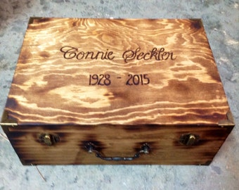 Wedding Card Box - Rustic Decor - Wedding Card Box - Anniversary Gift - Memory Box - Time Capsule - Love Letter box - Wedding Gift