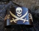Pirate Cuff Bracelet, Pir...