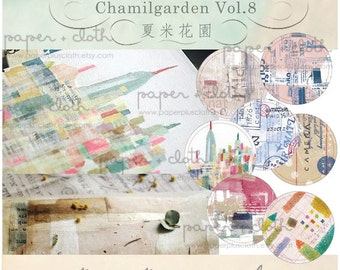 Chamil Garden Washi Tape Collection 8