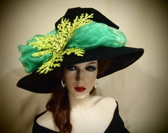 """Witch Hat """"Mixed Greens"""""""