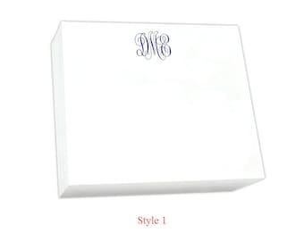 Large Monogrammed Super Slab Note Pad