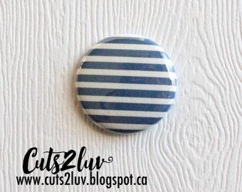"Badge 1 ""marine blue lined"