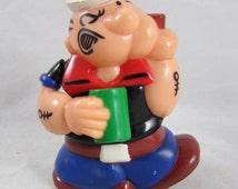 POPEYE Gum Ball Dispenser Superior TOY King Features Vintage  1983