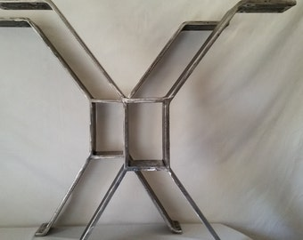 Industrial Modern X - Brace Table Legs