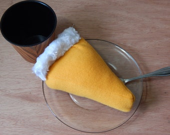 Pumpkin Sweet Potato Pie Plush Fursuit Prop Toy Small