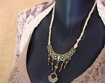 Necklace ethnic Aneesa nomadic