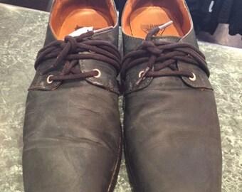 Navy John Fluevog Shoes