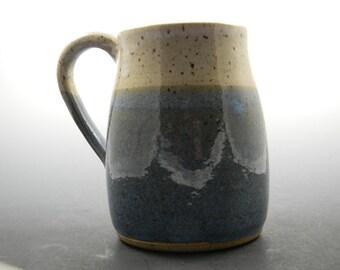 """Ceramic Blue and White 4"""" Coffee Mug"""