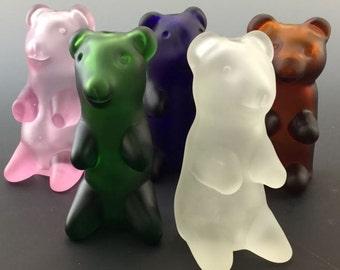 Gummy Bear Glass Tobacco Pipe - Q*023