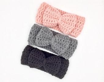 Baby Headwrap, Baby Ear Warmer, Baby Girl Head wrap, Ladies Head Warmer, Knit Baby Headband, Baby Turban Wrap, Girl Head Wrap
