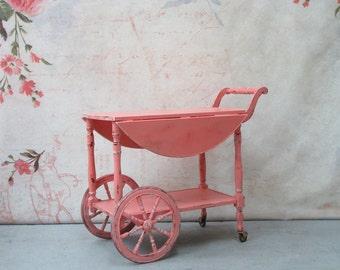 Vintage Melon Tea Cart