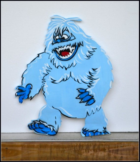 Abominable snowman christmas decorations for indoors and for Abominable snowman christmas decoration