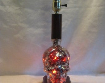 Crystal Skull Lamp