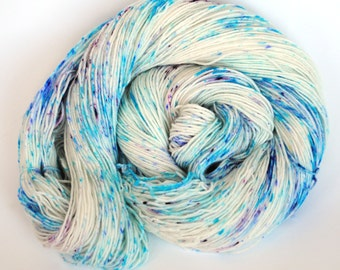 Berry Speckle -Hand Dyed Sock Yarn-