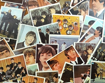 The Beatles Color Collector Cards From 1964. 40 TCG Cards.