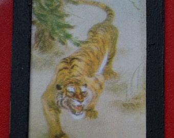 Dollhouse Fine Art Stamp; Oriental Tiger