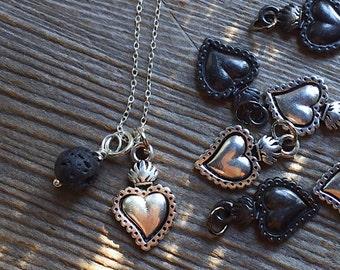 Heart/Milagros/Pendant/Charm