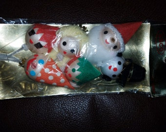 Vintage New/Old Christmas Decorations