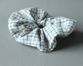 Traditional Country Check Hair Scrunchie