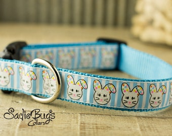 Easter Bunny dog collar - Easter