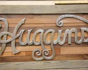 Rustic Barn Wood Art / Monograms, Names, Pictures!