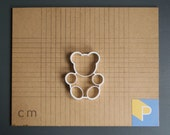 Teddy bear cookie cutter...