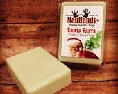 Santa Farts Scented Soap 3 oz. Bar