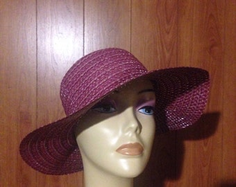 Wine Fun Floppy Sun Hat